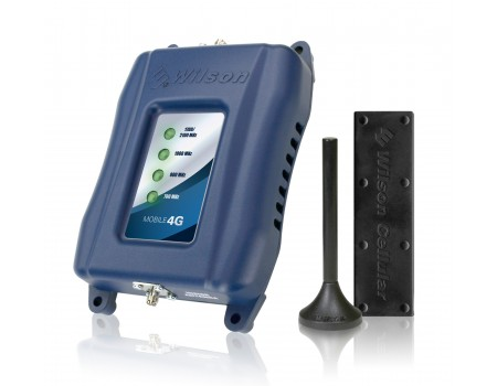 Wilson 460108 Mobile 4G Signal Booster Kit - Voice, 3G & 4G LTE for all Carriers [Discontinued]