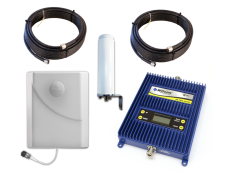 Wilson 843470 AG PRO-Quint Selectable 4-Band Omni Antenna Repeater Kit