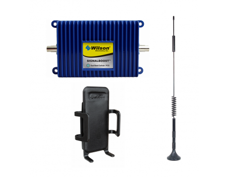 Wilson SIGNALBOOST Dual-Band Cellular Booster with Cradle Kit (811214)