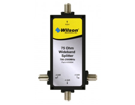 Wilson Three-Way 700-2500 MHz 75 Ohm Splitter (859994)