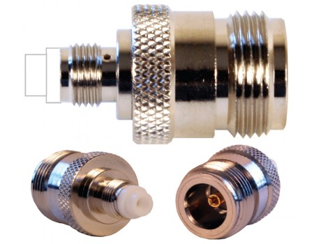 N Female to FME Female Barrel Connector (971107)