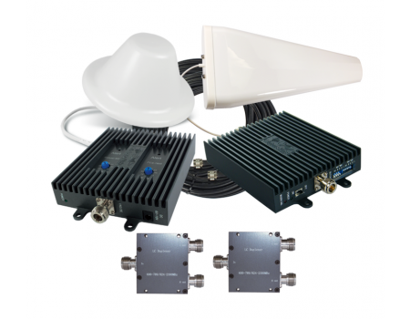 Tri-Band Repeater Kit for AT&T & US Cellular 4G LTE [Discontinued]
