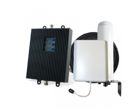 SureCall TriFlex Omni Signal Booster Kit for Voice, 3G, and 4G LTE [Discontinued]
