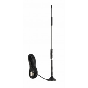 """Wilson 12"""" Magnetic Mount Antenna with SMA Male Connector & 10' Coax Cable (311125)"""