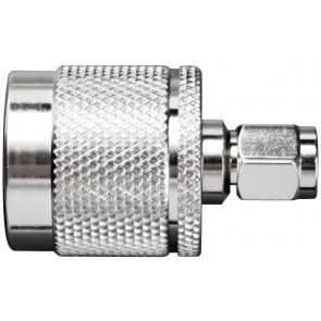 SMA Male to N Male Barrel Connector (971132)