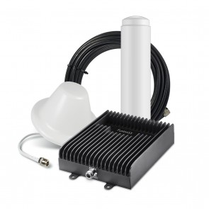 SureCall Fusion5X 72dB Signal Booster Kit - Voice, 3G & 4G LTE - Omni and Dome Kit