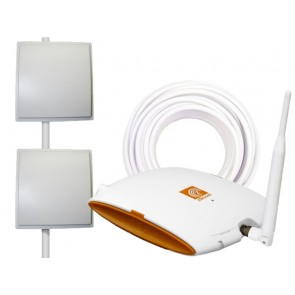 Wi-Ex zBoost YX545 Panel SOHO Dual Band Repeater Kit (YX545-PANEL) [Discontinued]