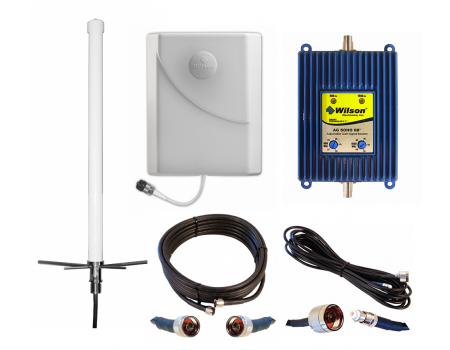 Wilson AG SOHO 60 dB Dual-Band Signal Booster Kit for Home or Office (841245)