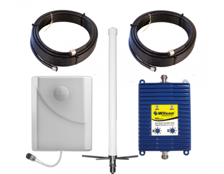 Wilson AG Pro 75 Large Building Signal Booster Kit with Standard Omni Antenna (841280-OMNI-W) [Discontinued]