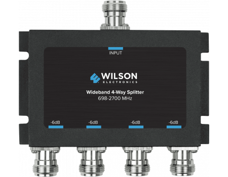 Wilson Four-Way 700-2700 MHz 50 Ohm Splitter (859981)
