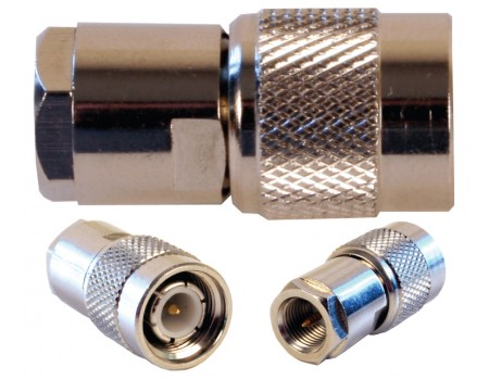 FME Male to TNC Male Barrel Connector (971106)