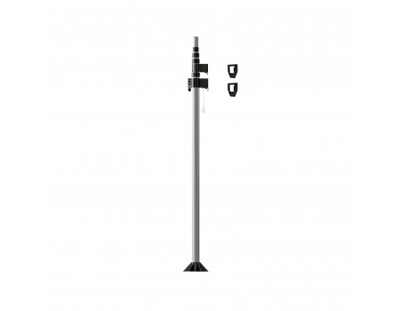 25' Telescoping Pole and Mount