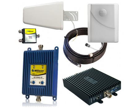 Dual Amplifier 3G and AT&T 4G LTE Kit