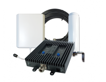 SureCall FlexPro Dual Band Omni/Panel Signal Booster for Voice & 3G