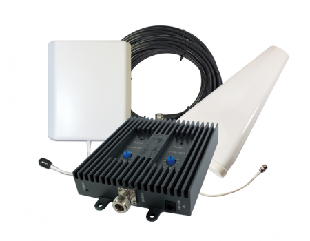 SureCall FlexPro Dual Band Yagi/Panel Signal Booster for Voice & 3G [Discontinued]