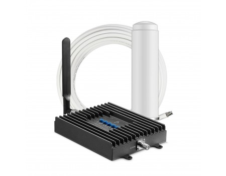 SureCall Fusion4Home Omni/Whip Signal Booster Kit - Voice, 3G & 4G LTE