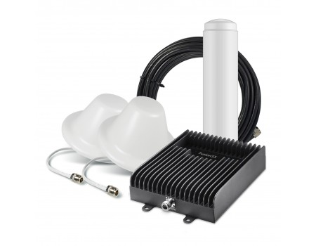 SureCall Fusion5X 1.0 Signal Booster Kit with 2 Inside Antennas [Discontinued]