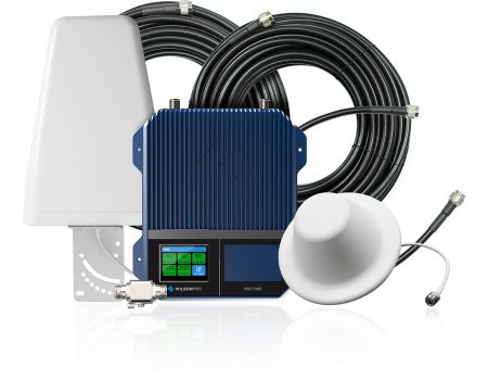 WilsonPro 1100 Enterprise Signal Booster for Voice, 3G and 4G LTE | 460147 - Kit