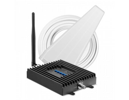 SureCall Fusion4Home Signal Booster Kit - Voice, 3G & 4G LTE - Yagi and Whip Kit
