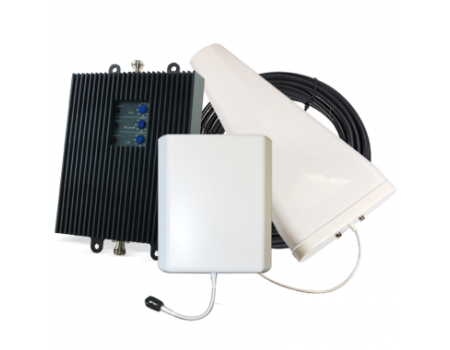 SureCall TriFlex Yagi Signal Booster Kit for Voice, 3G, and 4G LTE [Discontinued]