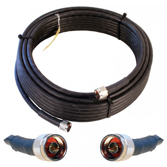 Rf Coaxial Cable : Wilson ultra low loss coax cable with n connectors
