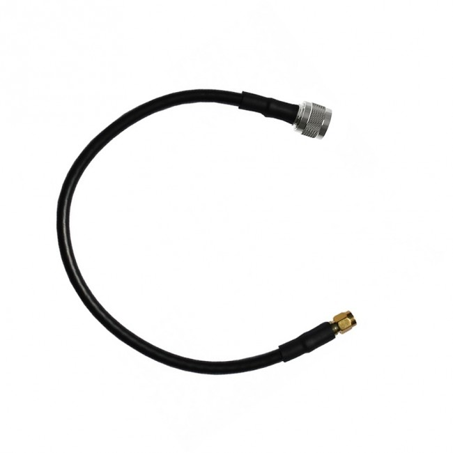 Adapter Cable with N-Male and SMA-Male Connectors