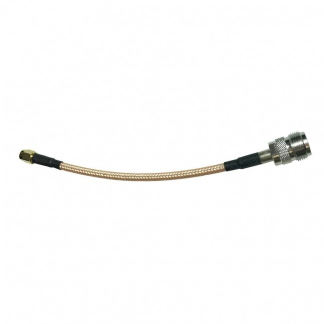 Adapter Cable with N-Female and SMA-Male Connectors