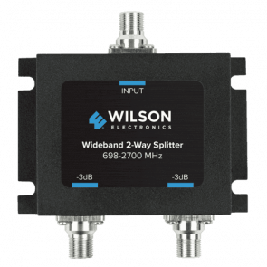 Wilson Two-Way 700-2500 MHz 75 Ohm Splitter (850034)