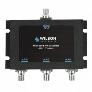 Wilson Three-Way 700-2500 MHz 75 Ohm Splitter (850035)