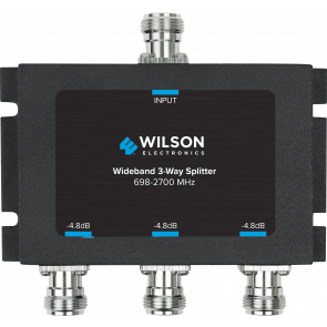 Wilson Three-Way 700-2700 MHz 50 Ohm Splitter (859980)