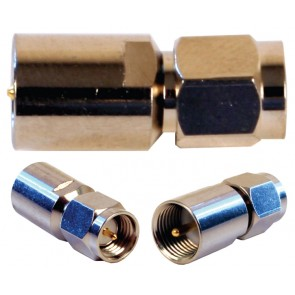 FME Male to SMA Male Barrel Connector (971119)