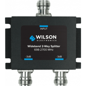 Wilson Two-Way 700-2700MHz 50 Ohm Signal Splitter (859957)